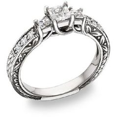 Love the combination of celtic style and diamonds