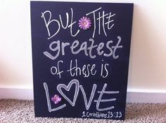 16X20 Canvas Panel Bible Verse by JillanaC on Etsy, $35.00