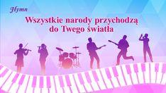"""Hymn kościelny 2019 """"Wszystkie narody przychodzą do Twego światła"""" #BógWszechmogący #ChwalićBoga #Adoracja #ChwałaBogu #Bożebłogosławieństwo #Alleluja #Musical #taniec #Muzykachrześcijańska #Hymnomiłości #Pieśńuwielbienia #najpiękniejszepieśnikościelne #Muzykauwielbienia #Muzykadomodlitwy Lit Songs, Chor, Praise God, Kirchen, Musicals, Singing, Truths, Christian Music, The Kingdom Of God"""