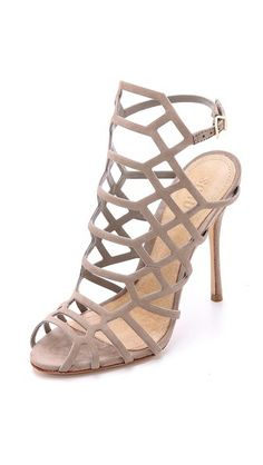 Schutz Juliana Caged Sandals ★ #details #fashion #inspiration #style #streetstyle #shoes