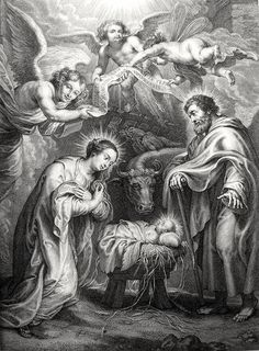 Luke in the Phillip Medhurst Collection 064 The nativity Luke 2:7 after Rubens on Flickr. A print from the Phillip Medhurst Collection published by Revd. Philip De Vere at St. George's Court, Kidderminster.