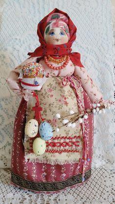 """Купить Кукла в русском народном стиле """"Пасхальные радости""""3 - Пасха, русский стиль, русская кукла"""