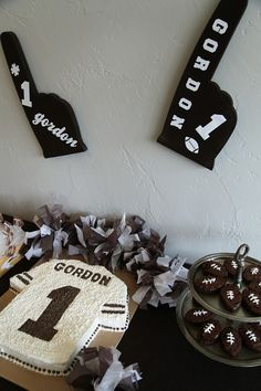 Gordon's First – Football Birthday Party   Prudent Baby