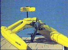 WATER BIKE Standard Pontoon Catamaran Pedal Paddle Boat Water ...