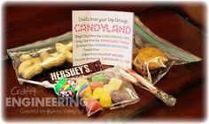 Candy land bag
