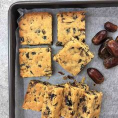 Easy Date Slice Recipe & Melt & Mix. Ridiculously easy sticky date flavoured slice / bars - just melt & mix then bake all done in only 40 mins.