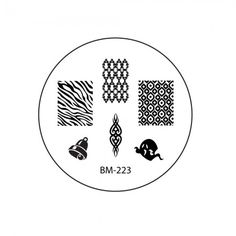 2011 Collections Nail Stamping Plates BM-223