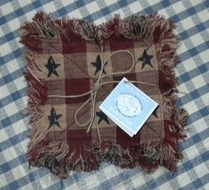 Star Rag Quilted Valance Pattern Pm 5 00 Primitive