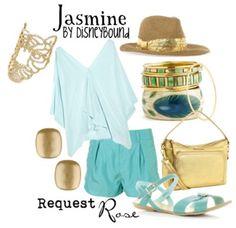 a Jasmine request to wear to Disney Land again, keeping it super casual Disney Bound Outfits, Disney Dresses, Disney Clothes, Aladdin, Disney Inspired Fashion, Disney Fashion, Estilo Disney, Character Inspired Outfits, Casual Cosplay
