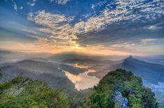 Hiking in Malaysia: Bukit Tabur; part of the Klang Gates Quartz Ridge, which is visible from Kuala Lumpur