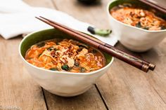 Thai Noodle and Chicken Soup recipe