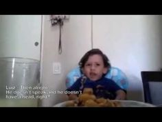 This adorable little boy is smarter than most adults! Luiz Antonio Explains Why Not To Eat Animals - ENGLISH! - YouTube