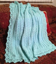 Crochet For Children: Mayflower Baby Blanket - Free Pattern