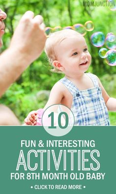 10 Fun And Interesting Activities For Your 8th Month Old Baby