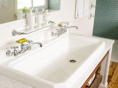 Love this big sink!
