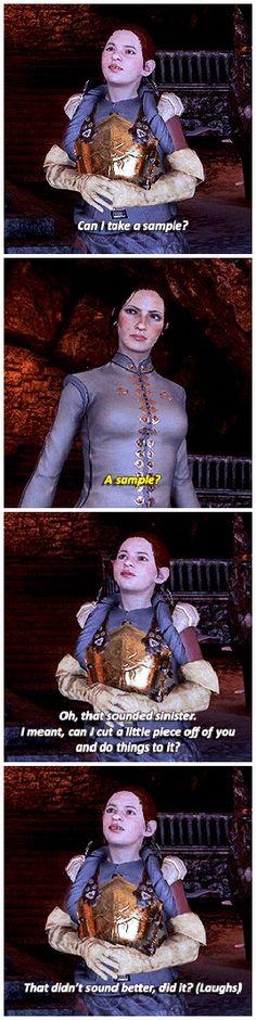 Dragon Age: Inquisition - Dagna. She's so cute. Strange. But cute.