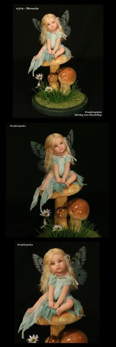 Baby fairy - polymer clay