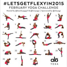 Join The February Yoga Challenge - Power Yoga DailyPower Yoga Daily