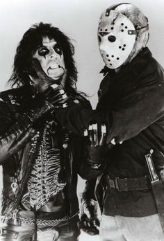 "Alice Cooper - Lead single released in 1986, ""He's Back (The Man Behind the Mask)"". ☚"