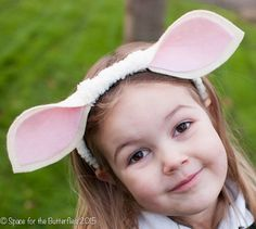 Space for the Butterflies - how to make a sheep headband with very little sewing  sc 1 st  Pinterest & How to Make Costume Sheep Ears | Pinterest | Costumes Sheep ...