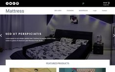 Mattress - Bootstrap Responsive Web Template