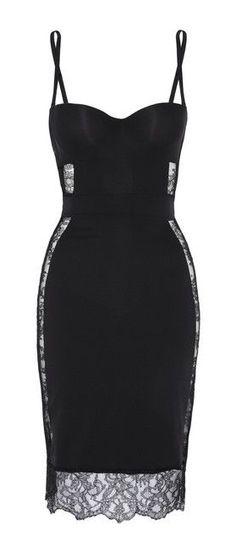 Bustier Slip Dress // la perla