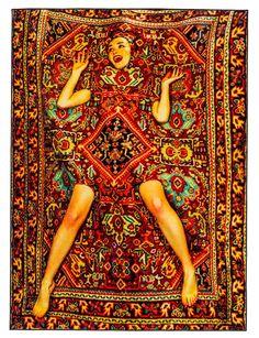 Seletti Wears Toiletpaper. Per tre settimane lo spazio Dream Factory a Milano (Italy) sarà invaso dai nuovi tappeti della collezione Seletti wears TOILETPAPER