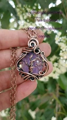 Wire Jewelry Making, Wire Wrapped Jewelry, Wire Pendant, Pendant Necklace, Artisan Jewelry, Handmade Jewelry, Crystal Jewelry, Wire Wrapping, Costume Jewelry