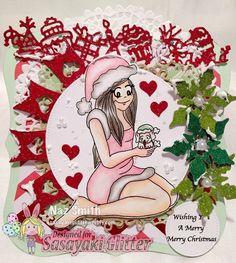 Sasayaki Glitter Digital Stamps https://www.etsy.com/shop/SasayakiGlitter?ref=profile_shopname