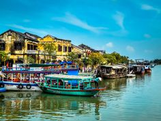 #an #ancient #architecture #asia #attraction #building #culture #heritage #hoi #hoian #house #old #river #town #travel #unesco #vietnam #water #yellow