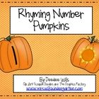 Perfect for fall and pumpkin themes!  Your students can practice number writing and phonemic awareness at the same time!  This is a very simple act...