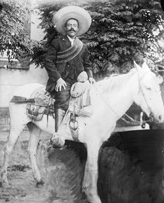 Pancho Villa Hope that you might find this as interesting as I do|This is a sight that you don't often see}