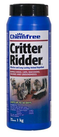 1 kg Chemfree Critter Ridder