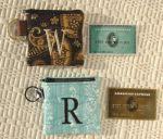 4x4 Monogram Zipper Cases