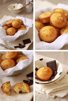 Muffins poire chocolat.