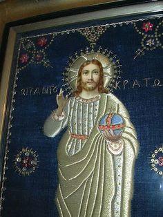 Lord Pantocrator Jesus Greek Orthodox Icon