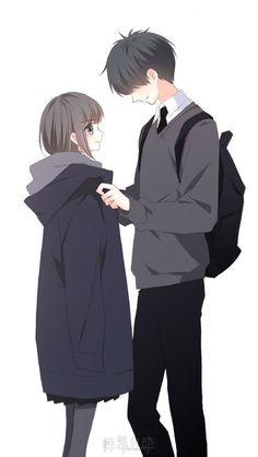 Love Never Fails Manga Anime Couples Drawings, Anime Couples Manga, Cute Anime Couples, Anime Guys, Manga Anime, Chibi Couple, Manga Couple, Anime Love Couple, Anime Amor