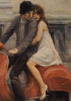 Imagem de love, art, and couple Renaissance Kunst, Romance Art, Classical Art, Old Art, Pretty Art, Aesthetic Art, Art Inspo, Art Reference, Fantasy Art
