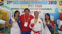 Filipino karatekas win a medal of each color in 27th SEA Games | Pinoy Headline dot Com