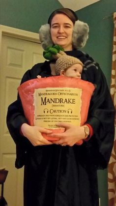 Professor Sprout and a mandrake - so awesome!