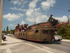 Parade on Pine street