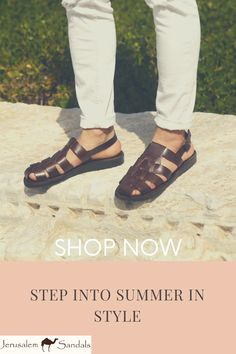 Featuring a stylish fisherman sandal silhouette in rich brown full-grain leather, the Barak sandal brings down-to-earth style and reliable comfort to your wardrobe. With an adjustable ankle strap and buckle closure in matching hardware, these closed-toe sandals are sure to become a favorite. Closed Toe Sandals, Men's Sandals, Brown Sandals, Leather Sandals, High Fashion, Mens Fashion, Crazy Shoes, Jerusalem, Designer Shoes