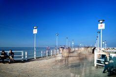 Molo w Brzeźnie / Cn Tower, Walking, Sea, Building, Travel, Poland, Viajes, Buildings, Walks