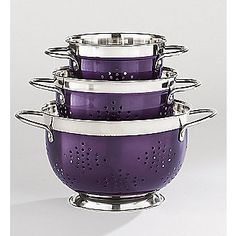 PURPLE Colander Set from Home at Five®