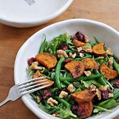 Sweet Potato and Green Bean Salad recipe