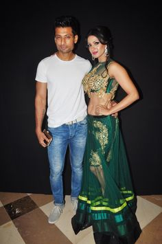 Indraneil Sengupta and Barkha Bisht at a fashion show to stop girl child abuse in association with Anu Ranjan's 'BETI' NGO & at the 1st look launch of documentary Main Tamanna 2