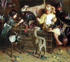 ~ Morgan Weistling: Goats and Roses
