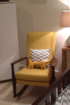 Vintage Parker Knoll Rocking Chair