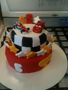 CARS 5TH BIRTHDAY CAKE