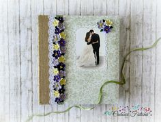 Quilling  Handmade  Wedding  Photo  Album by CadouriFistichii